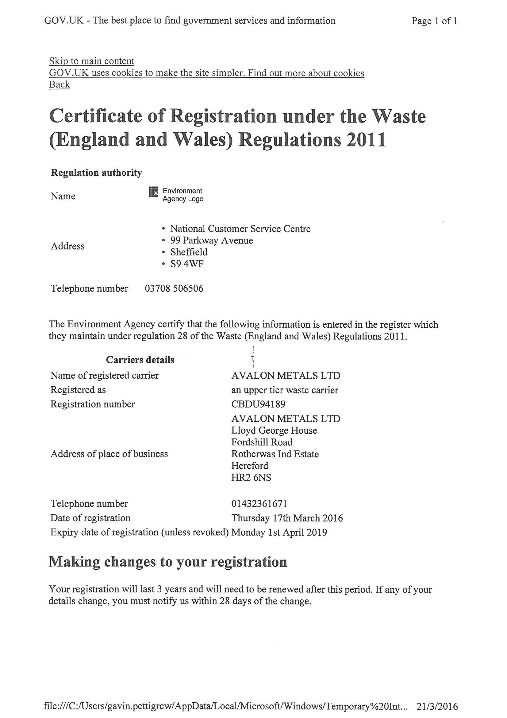 Waste-Carriers-Licence-Avalon---exp-01.04.2019